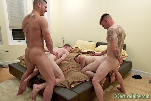 Military orgy