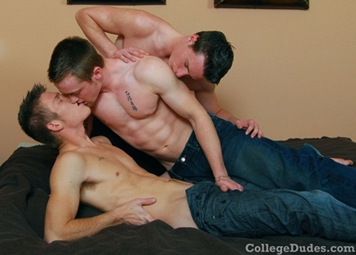 Carter Nash, Brody Grant and Rick McCoy