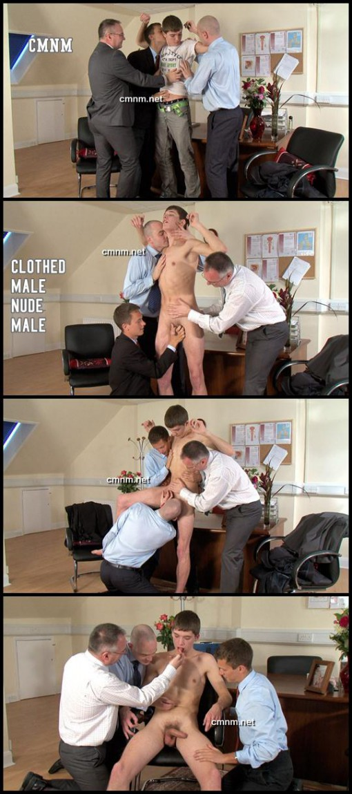 CMNM - Clothed Male Nude Male. Don is a hot 19 year old student standing ...