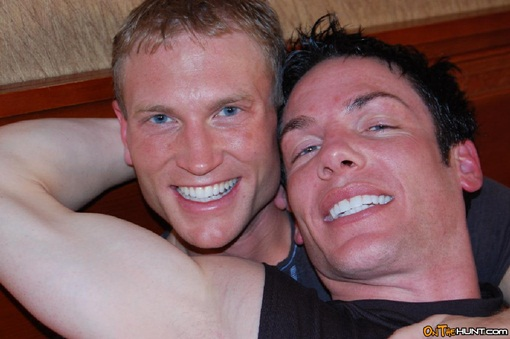 Manhunt members Kyle and David