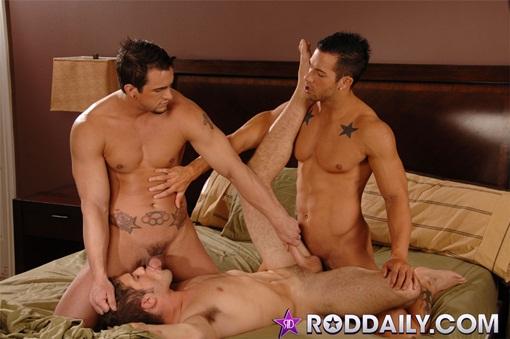 Rod Daily, Phenix Saint and Adam Wirthmore fucking
